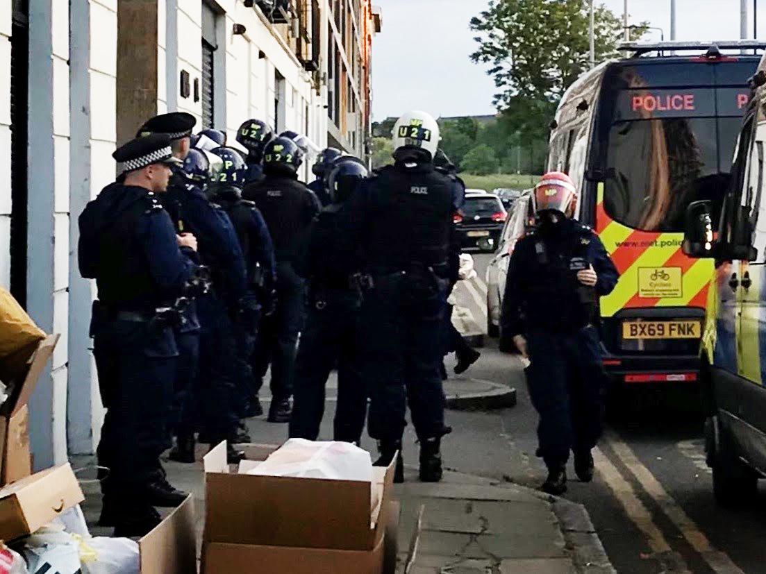 Crackdown on drug dealers