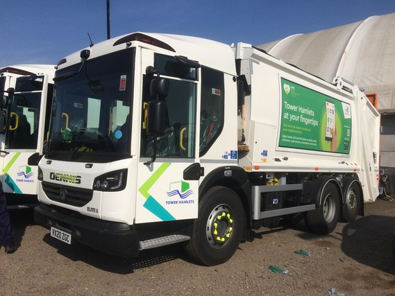 New waste trucks