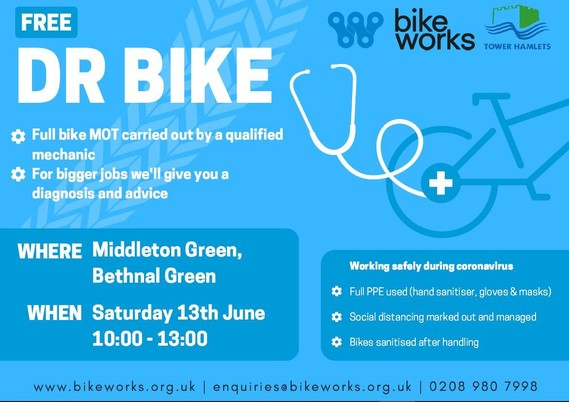 Dr Bike 13 June 2020