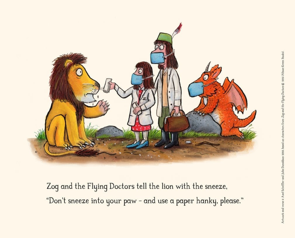 Zog and the flying dog