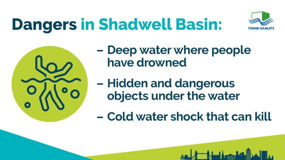 Shadwell Basin reminder