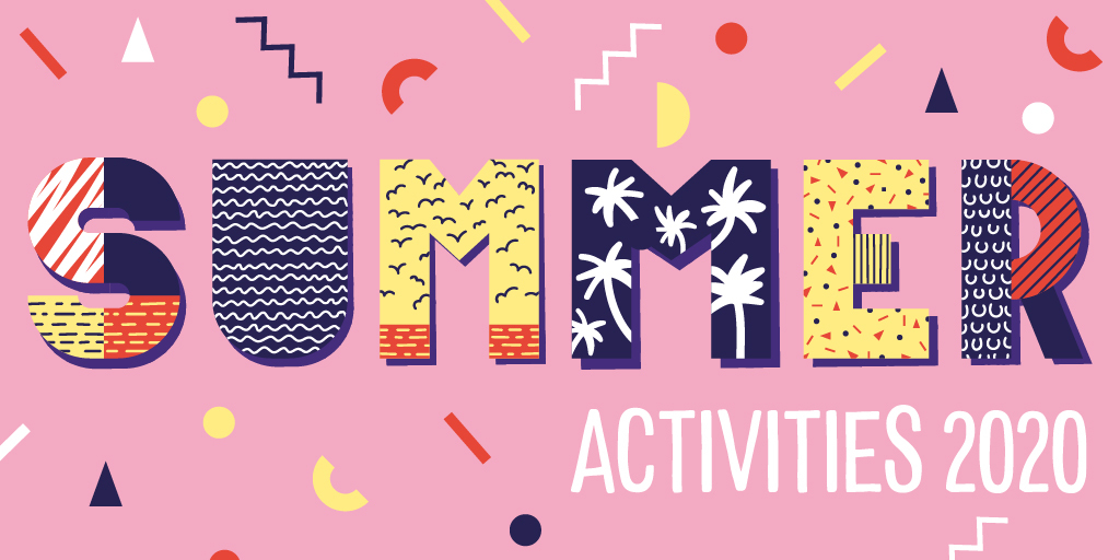 Text: Summer activities 2020