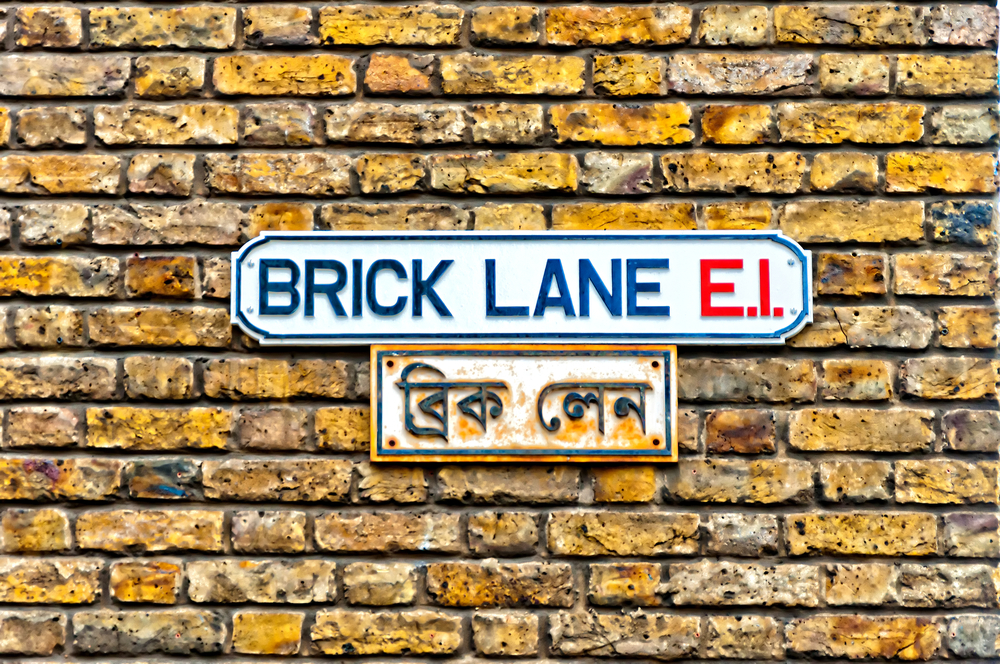 Brick Lane sign