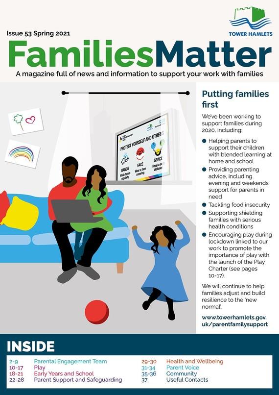 Families Matter Magazine – Spring 2021