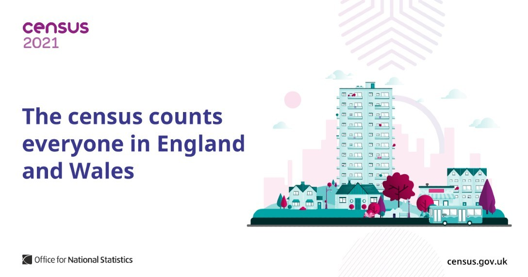 Census 2021 promotional image
