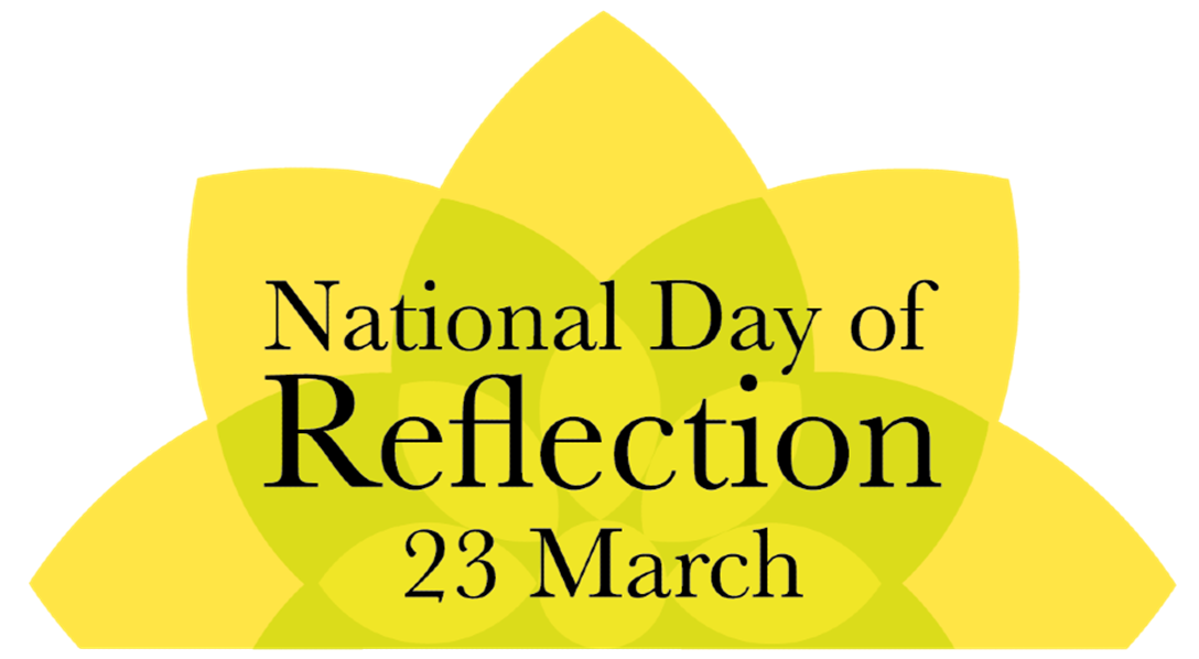 National day of reflection poster