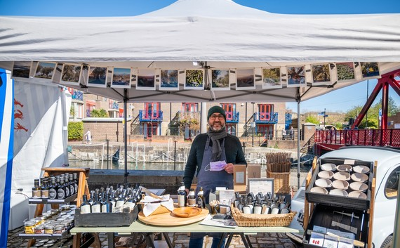 Wapping Docklands Market at Brussels Wharf