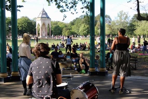 Victoria Park Bandstand Season