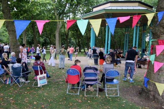 The summer bandstand season in Victoria Park