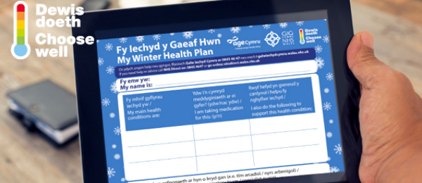 Wales urged to get ready for winter by choosing well and planning ahead