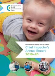 annual report cover english