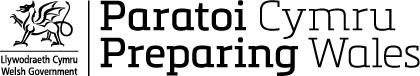 Logo Paratoi Cymru