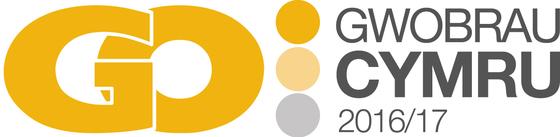Logo Gwobrau GO Cymru