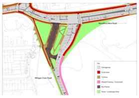Whipps Cross junction plan
