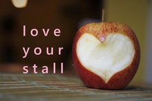 London Farmers Market Love Your Stall apple