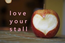 London Farmers Market Love Your Stall apple