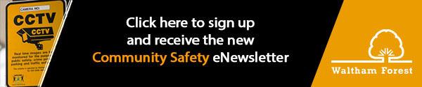 Community safety banner