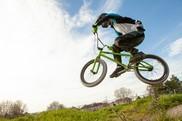 BMX rider at Cheney Row Park