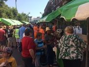 Leyton and Stone open air market