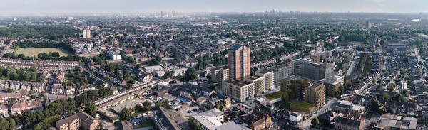 Marlowe Road panoramic view