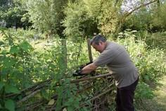 Pimp Hall Park fence repairs