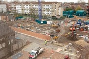 Marlowe Road building site