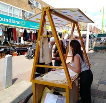Walthamstow High Street public engagement 220619