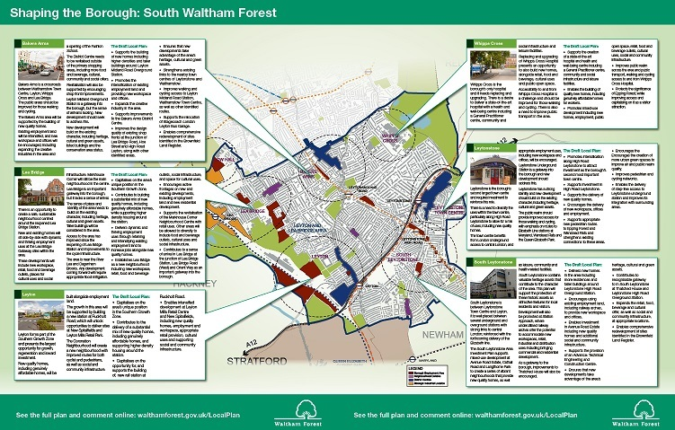 South Waltham Forest Local Plan leaflet centre pages