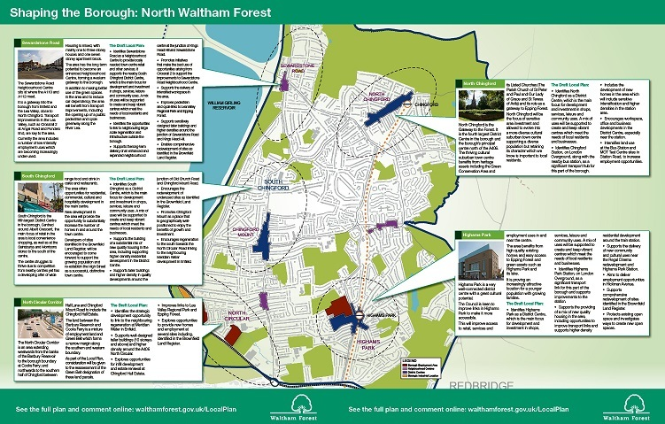 North Waltham Forest Plan Leaflet amended centre spread