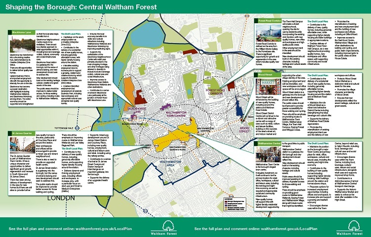 Draft Local Plan Central Waltham Forest centre fold amended