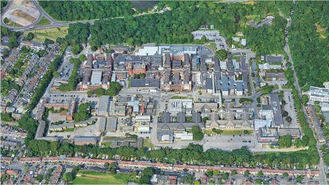 Whipps Cross Hospital aerial image