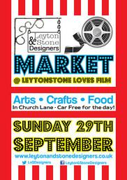 Leyton and Stone Market Poster September 2019
