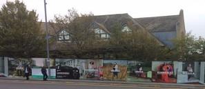Juniper House hoardings