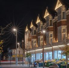 Walthamstow High Street by night