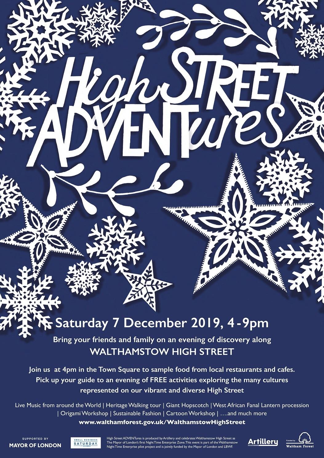 High Street Adventures 2019 poster