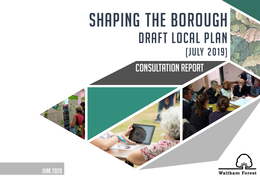 Draft Local Plan Consultation Cover