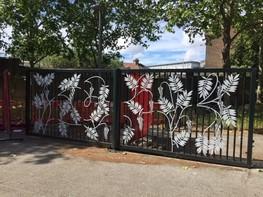 Langthorne Park Gates
