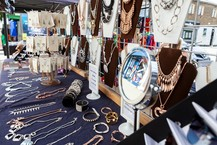 North Chingford Market jewellery stall 180720