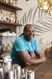 Delroy Dixon, Rhythm Kitchen Walthamstow Choose Local WF