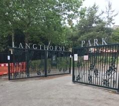 Langthorne Park gates art work