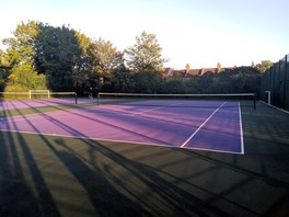 Higham Hill  Park  Tennis Courts 040820