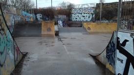 Cann Hall Park skate board area 040820