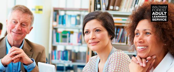 Waltham Forest Adult Learning Service newsletter header