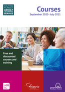 Cover: Prospectus 2020-21 Waltham Forest Adult Learning Service