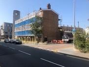 Central Parade scaffolding