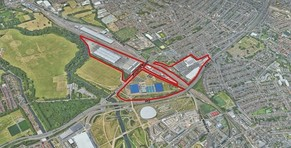 Leyton Mills Development Framework red line map