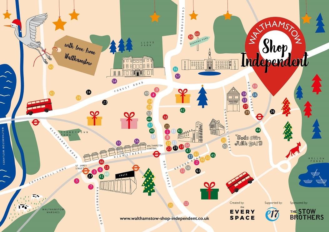 Walthamstow Shop Independentmap