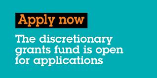 Apply for discretionary grants