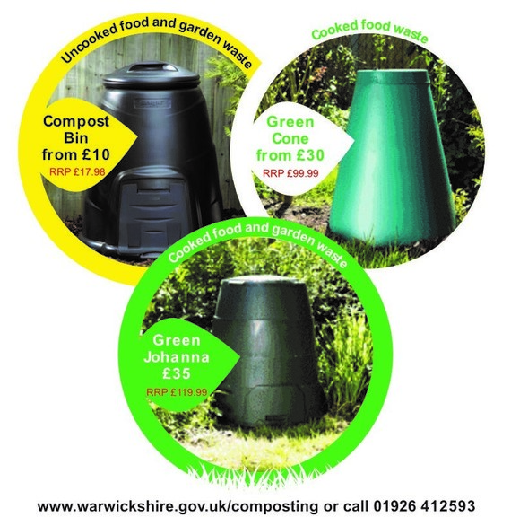 Discounted compost bins
