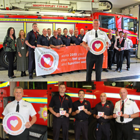 WFRS Year of Wellbeing event